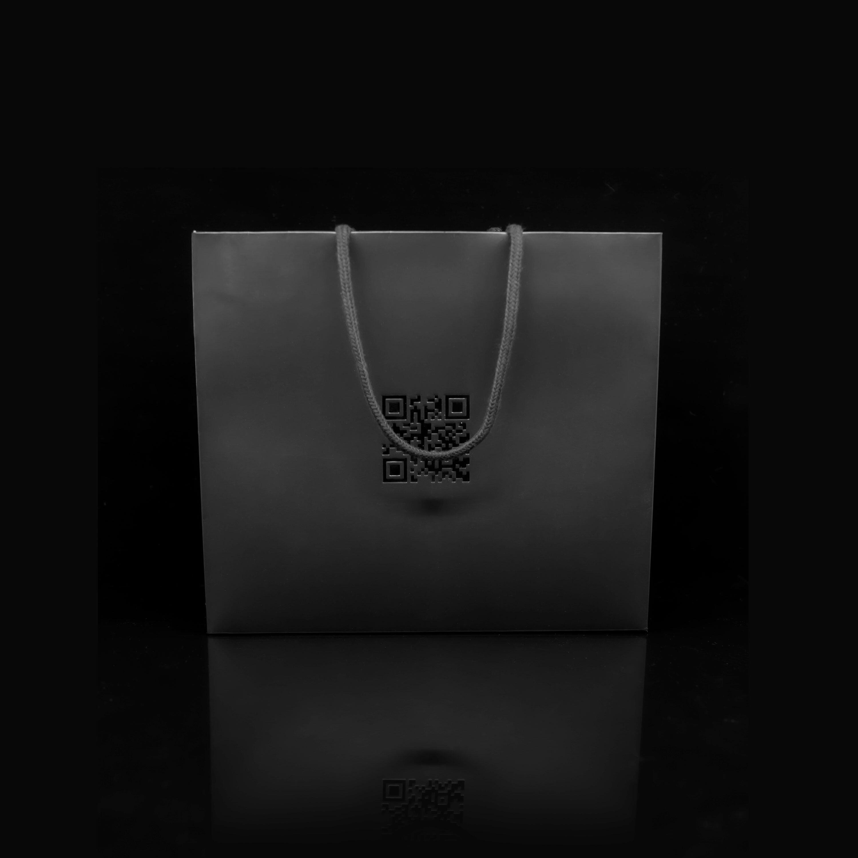 210 jewelry 고품질 맞춤 패키지 쇼핑백(뒷면)