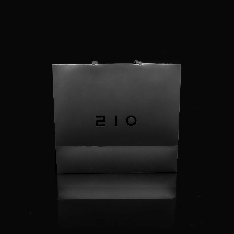 210 jewelry 고품질 맞춤 패키지 쇼핑백(앞면)