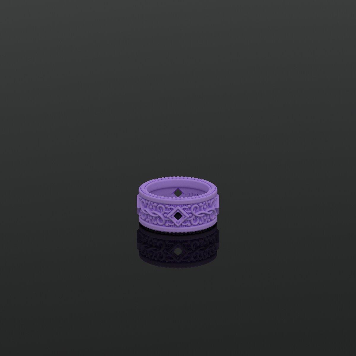 1ING[일링] 문양 반지(패턴 링) 3D 프린터 출력물