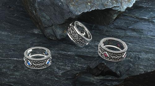 1ING[일링] Pattern Ring