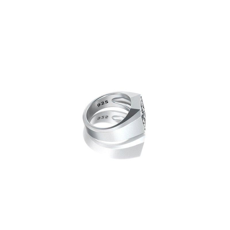 1ING[일링] 옥타곤 원링(각인) 은(Silver) 소재 S 사이즈 각인 후 각도별 컷 4