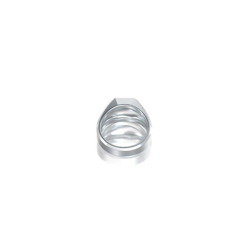 1ING[일링] 옥타곤 원링(각인) 은(Silver) 소재 XS 사이즈 각인 후 각도별 컷 3