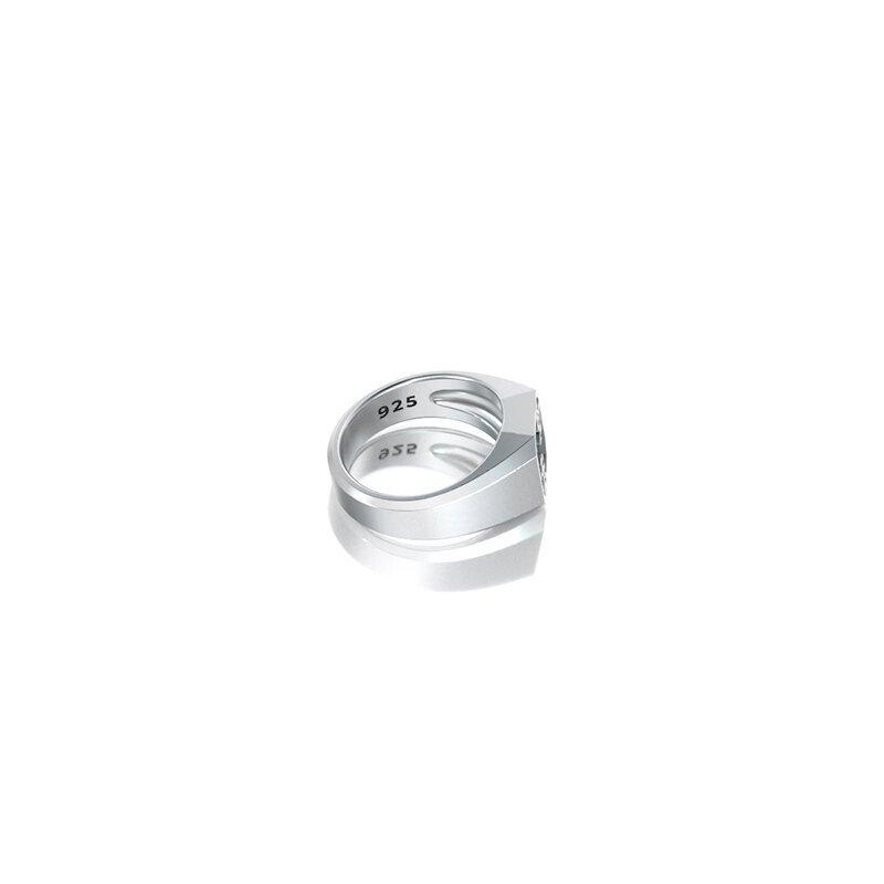 1ING[일링] 옥타곤 원링(각인) 은(Silver) 소재 XS 사이즈 각인 후 각도별 컷 4